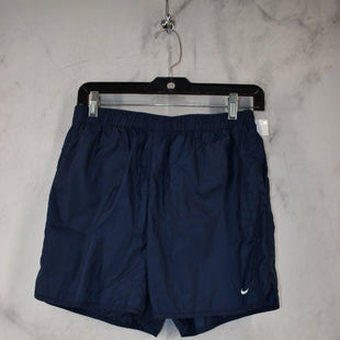 Primary Photo - BRAND: NIKE APPAREL STYLE: ATHLETIC SHORTS COLOR: NAVY SIZE: M SKU: 186-186217-7691