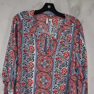 Primary Photo - BRAND: CATO STYLE: TOP LONG SLEEVE COLOR: RED BLUE SIZE: XL SKU: 186-186106-12128
