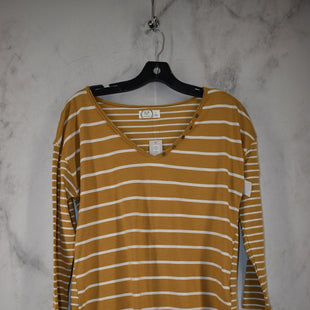 Primary Photo - BRAND: MAURICES STYLE: TOP LONG SLEEVE COLOR: MUSTARD SIZE: S OTHER INFO: NEW! SKU: 186-186167-30099