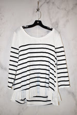 Primary Photo - BRAND: UMGEE <BR>STYLE: TOP LONG SLEEVE <BR>COLOR: STRIPED <BR>SIZE: M <BR>SKU: 186-186106-6519