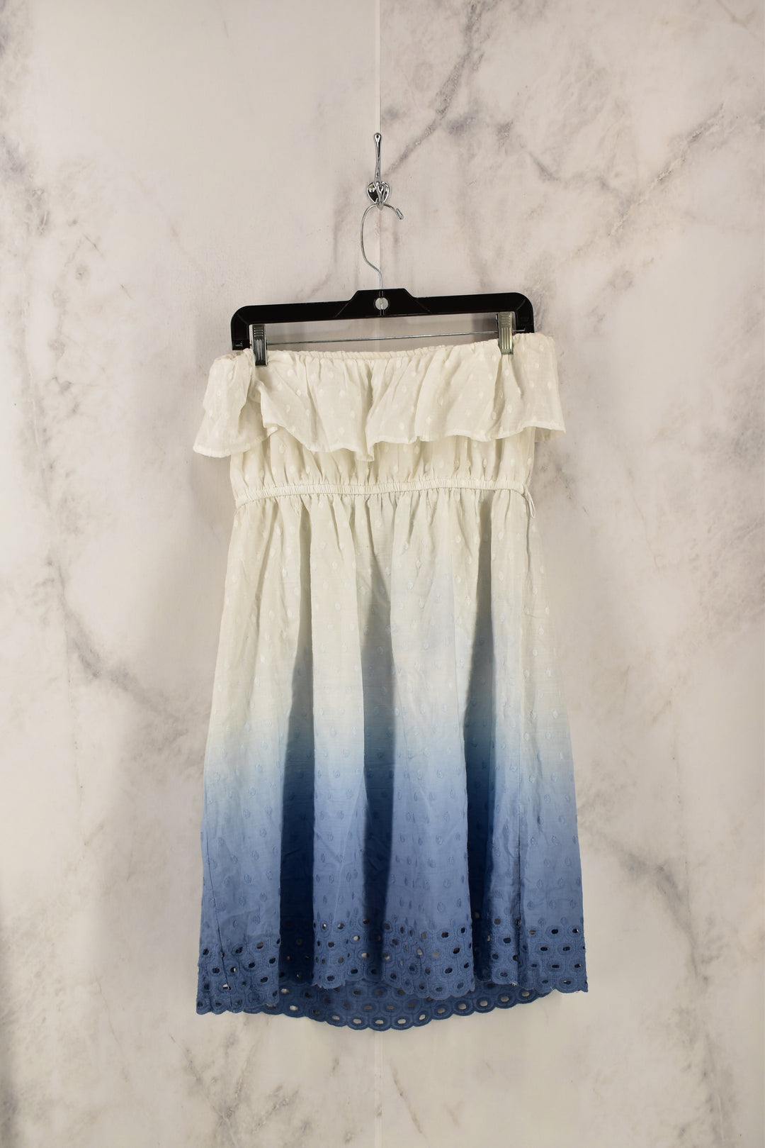 Photo #1 - BRAND: MAURICES <BR>STYLE: DRESS SHORT SLEEVELESS <BR>COLOR: WHITE <BR>SIZE: XL <BR>SKU: 186-186213-3127