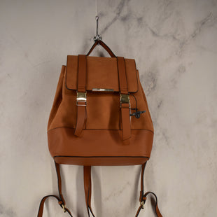 Primary Photo - BRAND: JUST FAB STYLE: BACKPACK COLOR: BROWN SIZE: MEDIUM SKU: 186-186106-9661