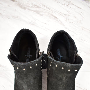 Primary Photo - BRAND: MINNETONKA STYLE: BOOTS ANKLE COLOR: BLACK SIZE: 10 SKU: 186-186106-8363