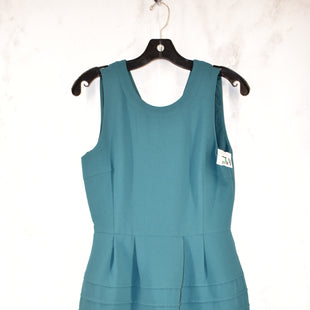 Primary Photo - BRAND: MADEWELL STYLE: DRESS SHORT SLEEVELESS COLOR: GREEN SIZE: 2 SKU: 186-186220-40