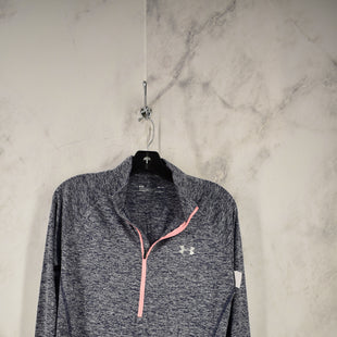 Primary Photo - BRAND: UNDER ARMOUR STYLE: ATHLETIC TOP COLOR: GREY SIZE: M SKU: 186-186106-9723