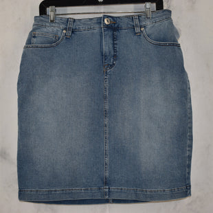 Primary Photo - BRAND: STYLE AND COMPANY STYLE: SKIRT COLOR: DENIM SIZE: 8 OTHER INFO: CURVY SKIRT SKU: 186-186106-11688