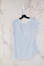 Photo #1 - BRAND: RED CAMEL<BR>STYLE: TOP SHORT SLEEVE<BR>COLOR: WHITE BLUE<BR>SIZE: XL<BR>SKU: 186-186104-12161