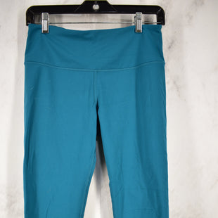 Primary Photo - BRAND: VICTORIAS SECRET STYLE: ATHLETIC CAPRIS COLOR: TEAL SIZE: M SKU: 186-186167-28907