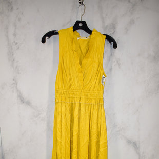Primary Photo - BRAND: MAEVE STYLE: DRESS SHORT SLEEVELESS COLOR: YELLOW SIZE: XS SKU: 186-186213-7875