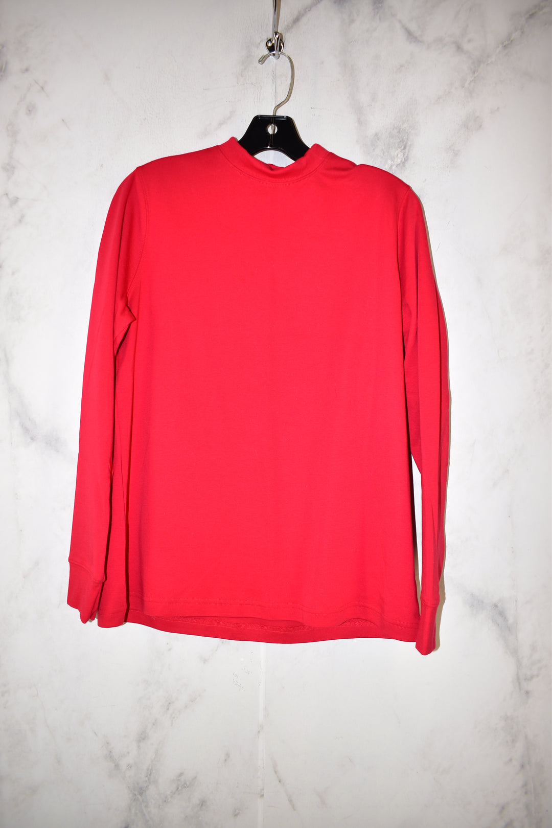 Primary Photo - BRAND: LANDS END <BR>STYLE: TOP LONG SLEEVE BASIC <BR>COLOR: RED <BR>SIZE: M <BR>SKU: 186-186213-8866