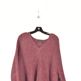 Primary Photo - BRAND: ELLEN TRACY STYLE: SWEATER COLOR: MAROON SIZE: 2X SKU: 186-186179-11344