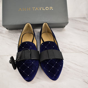 Primary Photo - BRAND: ANN TAYLOR STYLE: SHOES FLATS COLOR: BLUE SIZE: 8.5 SKU: 186-186106-9860
