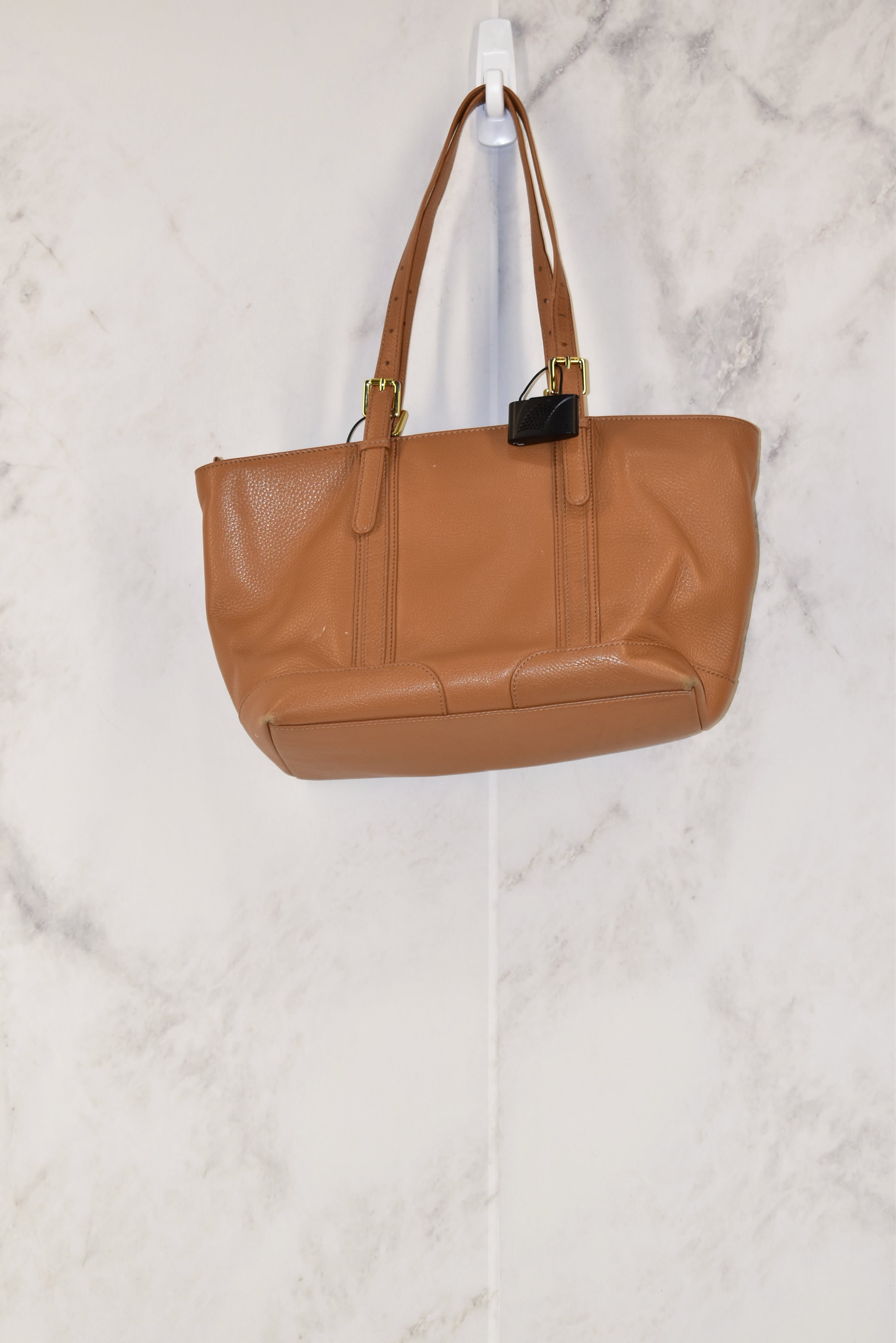 Photo #1 - BRAND: TORY BURCH<BR>STYLE: HANDBAG DESIGNER<BR>COLOR: CAMEL<BR>SIZE: MEDIUM<BR>SKU: 186-186213-2779