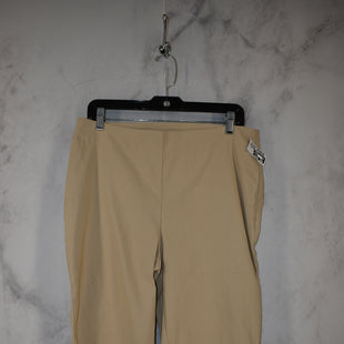 Primary Photo - BRAND: CHICOS STYLE: CAPRIS COLOR: BEIGE SIZE: 1.5 SKU: 186-186167-30076