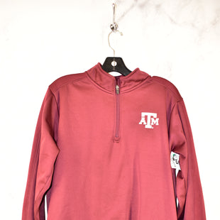 Primary Photo - BRAND:    CLOTHES MENTOR STYLE: ATHLETIC JACKET COLOR: MAROON SIZE: M OTHER INFO: AGGIES - SKU: 186-186200-2825