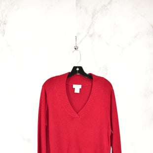 Primary Photo - BRAND: TALBOTS STYLE: SWEATER COLOR: RED SIZE: XL SKU: 186-186179-11425
