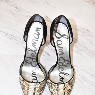 Primary Photo - BRAND: SAM EDELMANSTYLE: SHOES HIGH HEELCOLOR: SNAKESKIN PRINTSIZE: 7SKU: 186-186197-298