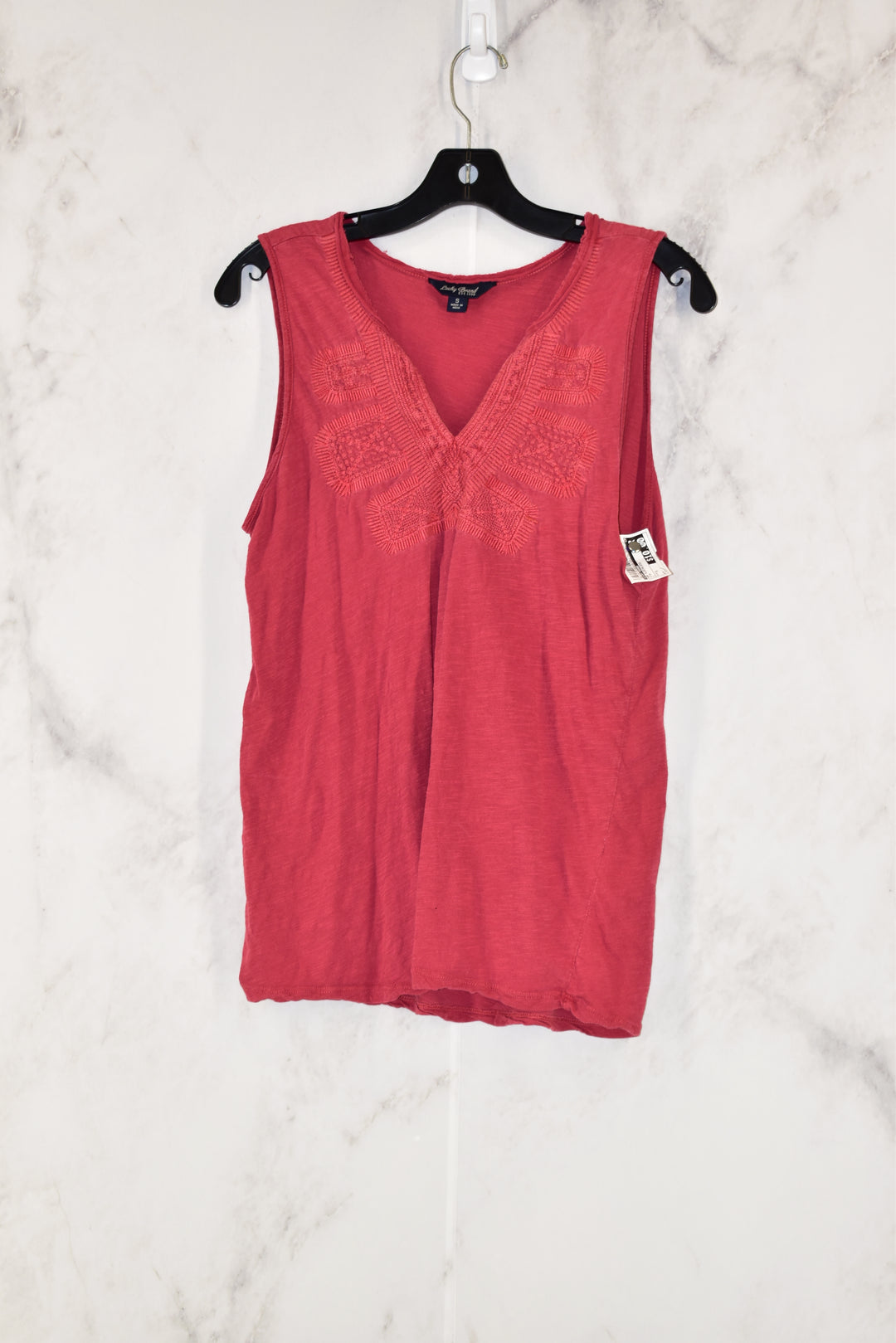 Primary Photo - BRAND: LUCKY BRAND<BR>STYLE: TOP SLEEVELESS<BR>COLOR: PINK<BR>SIZE: S<BR>SKU: 186-186179-8835
