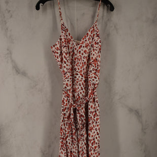 Primary Photo - BRAND: BANANA REPUBLIC STYLE: DRESS LONG SLEEVELESS COLOR: WHITE SIZE: 8 OTHER INFO: JUMPSUIT SKU: 186-186230-3