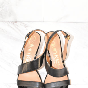 Primary Photo - BRAND: CALVIN KLEIN STYLE: SHOES HIGH HEEL COLOR: BLACK SIZE: 8.5 SKU: 186-186167-22466