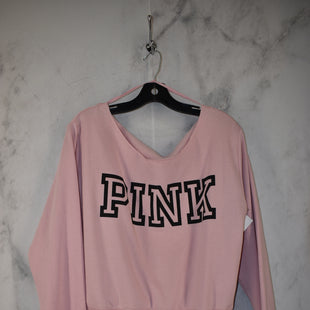 Primary Photo - BRAND: VICTORIAS SECRET STYLE: SWEATER LIGHTWEIGHT COLOR: PINK SIZE: M SKU: 186-186167-30103
