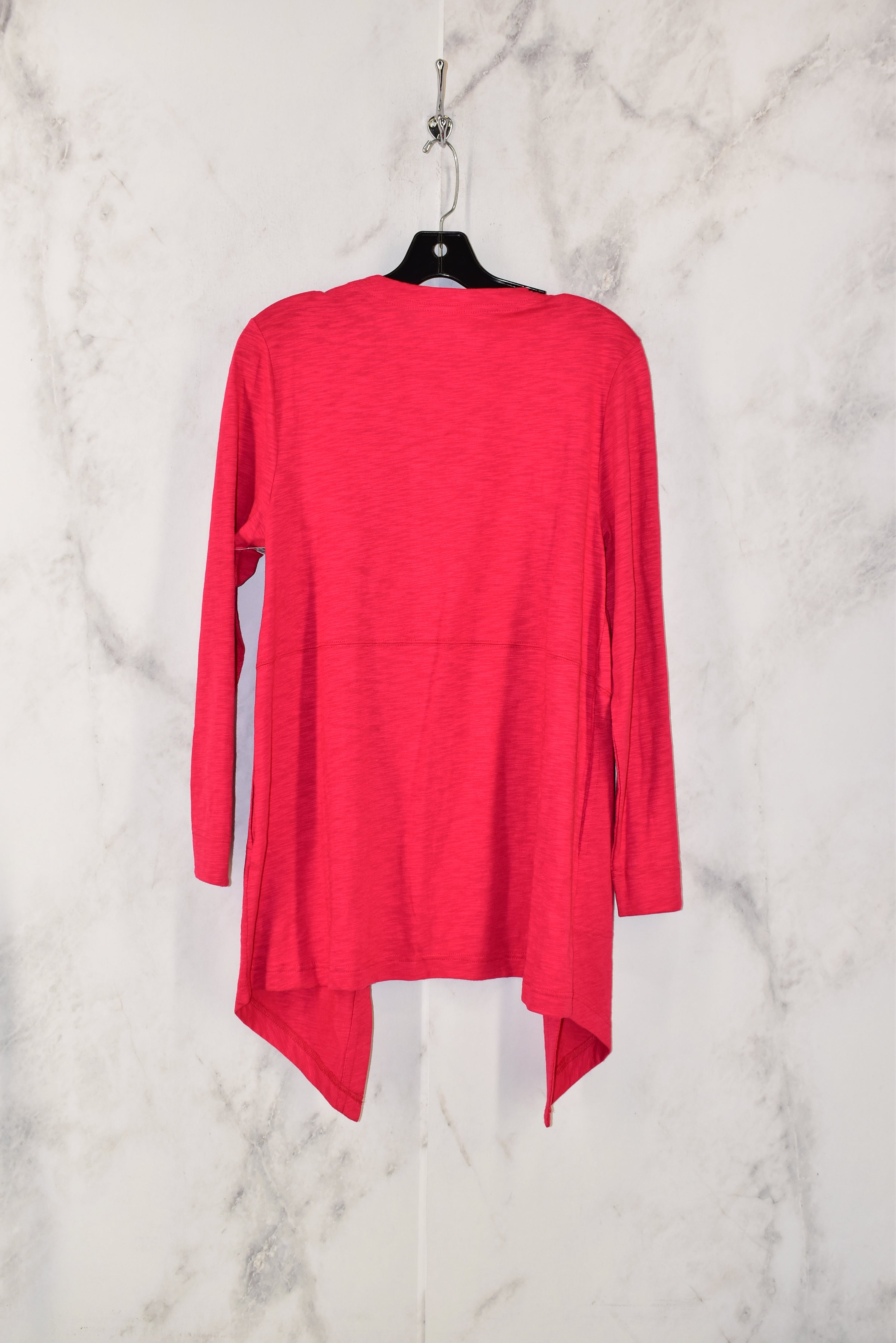 Photo #1 - BRAND: CHICOS <BR>STYLE: SWEATER CARDIGAN LIGHTWEIGHT <BR>COLOR: PINK <BR>SIZE: 1 <BR>SKU: 186-186213-3306
