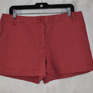 Primary Photo - BRAND: ANN TAYLOR LOFT STYLE: SHORTS COLOR: RED SIZE: 12 SKU: 186-186106-11984