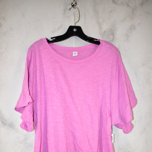 Primary Photo - BRAND: OLD NAVY STYLE: TOP SHORT SLEEVE BASIC COLOR: PINK SIZE: XL SKU: 186-186226-129