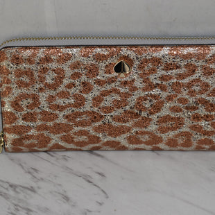 Primary Photo - BRAND: KATE SPADE STYLE: WALLET COLOR: ANIMAL PRINT SIZE: LARGE OTHER INFO: NEW!! SKU: 186-186106-12080