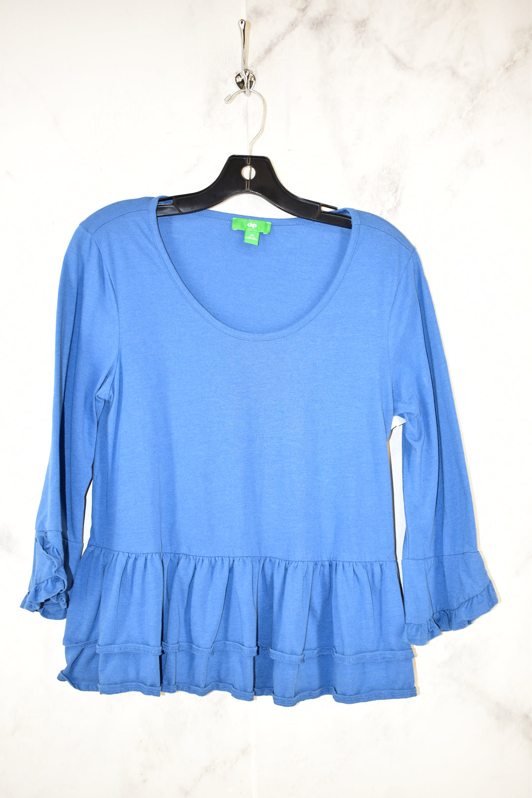 Primary Photo - BRAND: DIP <BR>STYLE: TOP LONG SLEEVE <BR>COLOR: BLUE <BR>SIZE: M <BR>SKU: 186-186200-769