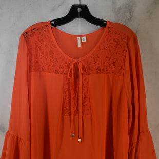 Primary Photo - BRAND: CATO STYLE: TOP LONG SLEEVE COLOR: CORAL SIZE: XL SKU: 186-186106-12132
