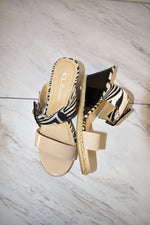 Primary Photo - BRAND: CHINESE LAUNDRY <BR>STYLE: SANDALS HIGH <BR>COLOR: ZEBRA PRINT <BR>SIZE: 8 <BR>SKU: 186-186167-27364