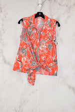 Primary Photo - BRAND: EMMA JAMES<BR>STYLE: TOP SLEEVELESS<BR>COLOR: ORANGE<BR>SIZE: S<BR>SKU: 186-186167-14582