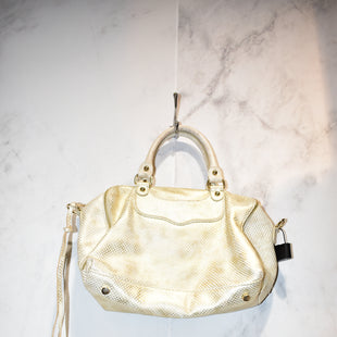 Primary Photo - BRAND: REBECCA MINKOFF STYLE: HANDBAG DESIGNER COLOR: GOLD SIZE: MEDIUM SKU: 186-186167-25681