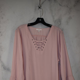 Primary Photo - BRAND: MAURICES STYLE: TOP LONG SLEEVE COLOR: PINK SIZE: 2X SKU: 186-186217-7137