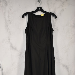 Primary Photo - BRAND:    CLOTHES MENTOR STYLE: DRESS LONG SLEEVELESS COLOR: BLACK SIZE: L SKU: 186-186106-10790