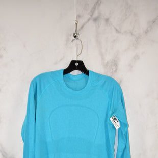 Primary Photo - BRAND: LULULEMON STYLE: ATHLETIC TOP COLOR: BLUE SIZE: 2 SKU: 186-186106-9754