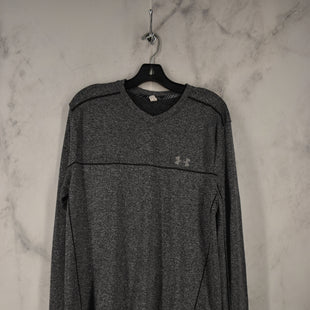 Primary Photo - BRAND: UNDER ARMOUR STYLE: ATHLETIC TOP COLOR: GREY SIZE: M SKU: 186-186217-7637