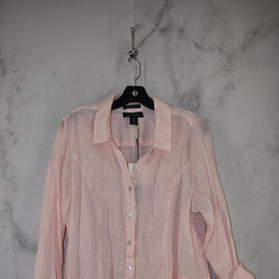 Primary Photo - BRAND: TAHARI STYLE: TOP LONG SLEEVE COLOR: PINK SIZE: 1X OTHER INFO: NEW! SKU: 186-186217-7133