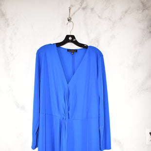 Primary Photo - BRAND: ELOQUII STYLE: DRESS SHORT LONG SLEEVE COLOR: BLUE SIZE: 16 SKU: 186-186217-3585