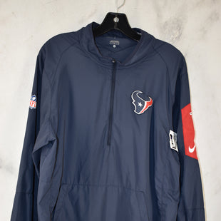 Primary Photo - BRAND: NFL STYLE: ATHLETIC TOP COLOR: NAVY SIZE: L OTHER INFO: HOUSTON TEXANS SKU: 186-186106-11377