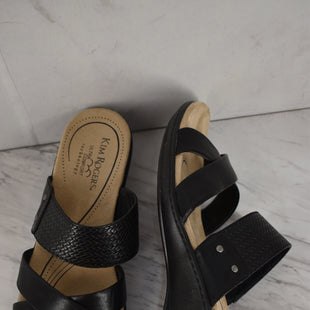 Primary Photo - BRAND: KIM ROGERS STYLE: SANDALS LOW COLOR: BLACK SIZE: 9.5 SKU: 186-186106-12134