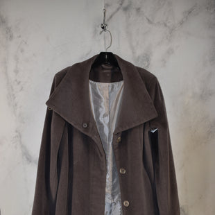 Primary Photo - BRAND: CALVIN KLEIN STYLE: COAT WOOL COLOR: GREY SIZE: 10 SKU: 186-186217-7861