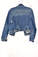 Photo #1 - BRAND: GAP <BR>STYLE: JACKET OUTDOOR <BR>COLOR: DENIM <BR>SIZE: XS <BR>SKU: 186-186167-22256