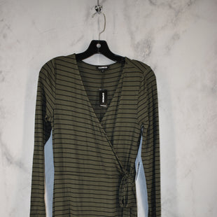 Primary Photo - BRAND: EXPRESS STYLE: DRESS SHORT LONG SLEEVE COLOR: GREEN SIZE: S OTHER INFO: NEW! SKU: 186-186167-29928