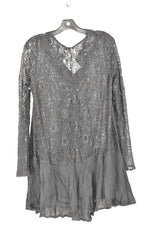 Photo #1 - BRAND: JODIFL <BR>STYLE: TOP LONG SLEEVE <BR>COLOR: BLACK <BR>SIZE: M <BR>SKU: 186-186217-18