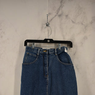 Primary Photo - BRAND:    CLOTHES MENTOR STYLE: SKIRT COLOR: DENIM SIZE: 0 OTHER INFO: PARALLEL LINES - SKU: 186-186217-7611