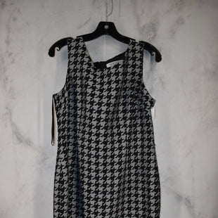 Primary Photo - BRAND: KASPER STYLE: DRESS SHORT SLEEVELESS COLOR: HOUNDSTOOTH SIZE: 10 OTHER INFO: LARGE SKU: 186-186217-7114