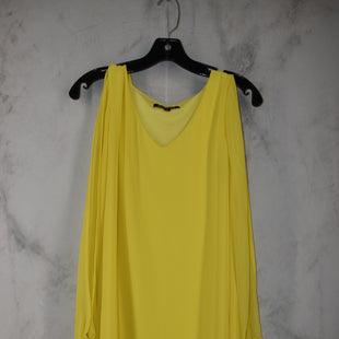 Primary Photo - BRAND: GIANNI BINI STYLE: DRESS SHORT LONG SLEEVE COLOR: YELLOW SIZE: S SKU: 186-186217-7143