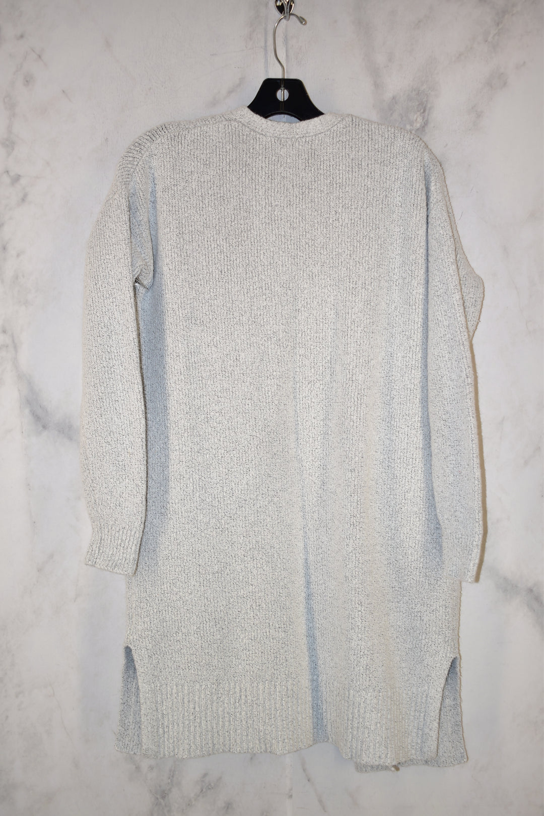 Photo #1 - BRAND: OLD NAVY <BR>STYLE: SWEATER CARDIGAN HEAVYWEIGHT <BR>COLOR: GREY <BR>SIZE: S <BR>SKU: 186-186167-25153